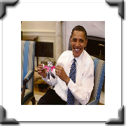 President Obama has been a great supporter of the Flat Stanley Project